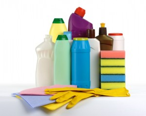 Cleaning with green natural products will save money and help the environment