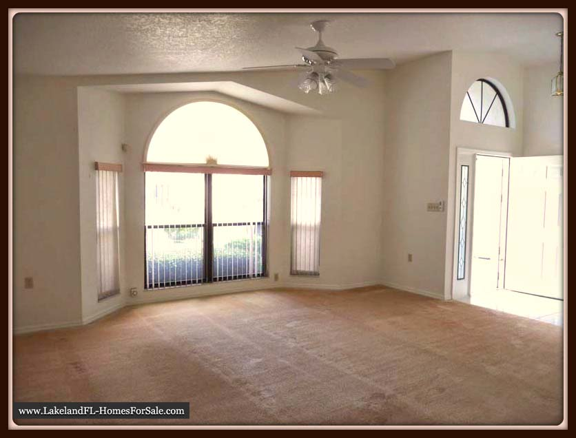 Home for Sale in Sandpiper Golf & Country Club Community | Living Room