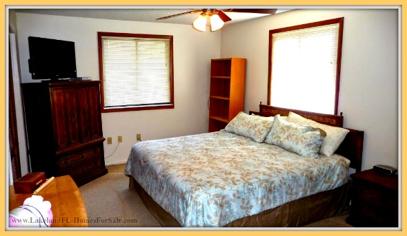 Have your own private haven inside the large bedrooms of this beautiful Lake Wales FL home for sale.