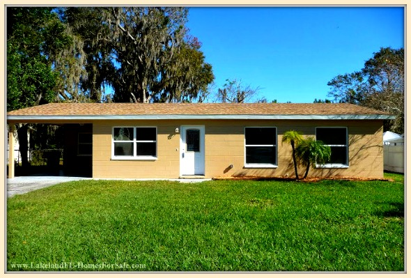 Search no more, this newly remodeled 3 bedroom Lakeland FL home for sale is the perfect choice!