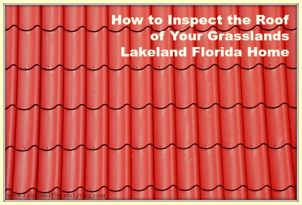 Here are great tips to help you maintain your Grasslands Lakeland FL home's roof.
