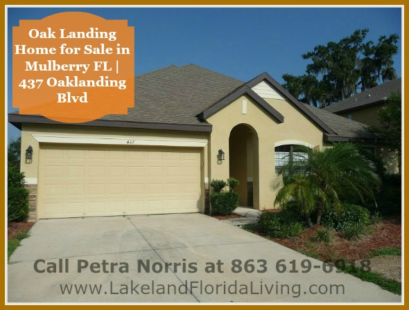 Be in awe of the spectacular surroundings in this french country style Mulberry FL home for sale in Oaklanding Blvd.