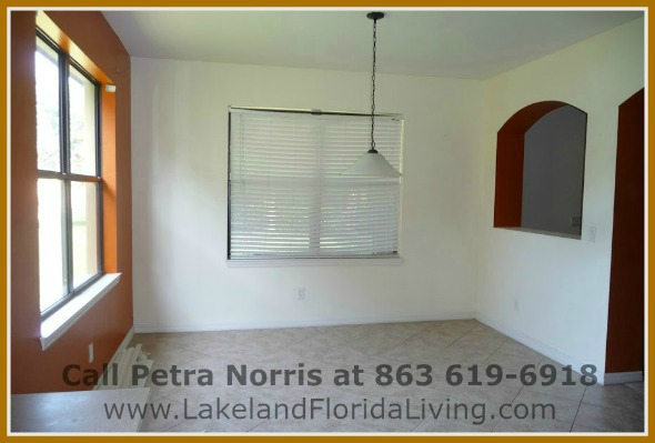 Experience fine dining in the elegant dining room of this exquisite home for sale in Mulberry FL.