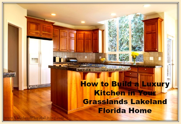 These are amazing tips to create a luxury kitchen for your Grasslands Lakeland FL home.