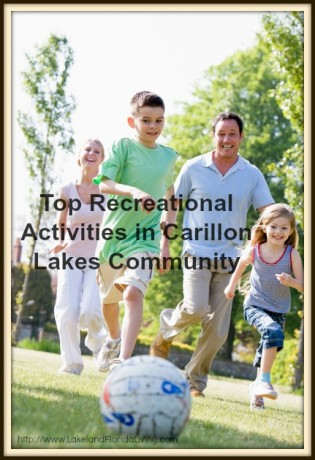 Have quality time with your family in Carillon Lakes community - here are top fun activities for you!