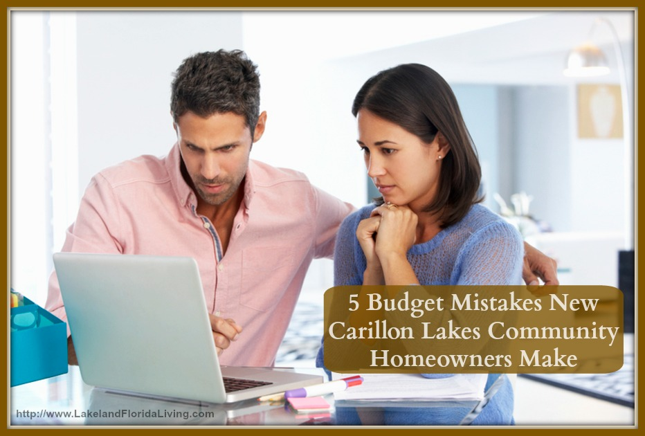 Don't miss these important fees to be included in your budget for your new home in Carillon Lakes community.