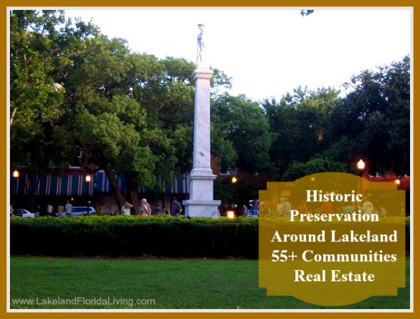 Live in Lakeland 55+ communities real estates and know how rich in history the place is.