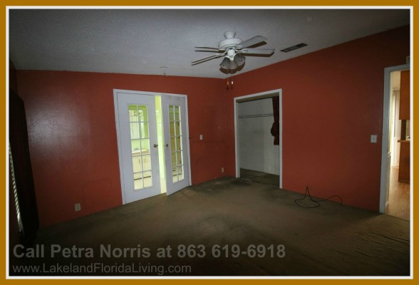 Enjoy a peaceful rest in the cozy bedrooms offered in this home for sale in Kathleen FL.