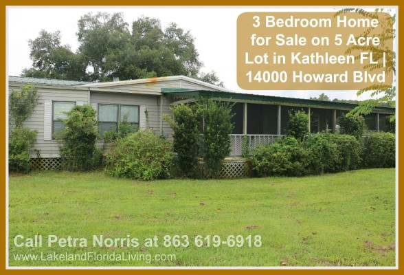 Never miss the opportunity to check out this expansive property for sale in Kathleen FL.