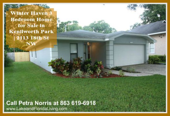 This exceptional Kenilworth Park 3 bedroom home for sale in Winter Haven FL will certainly make its new owner proud!
