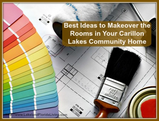 Spruce up each of the rooms in your Carillon Lakes Community home for sale with these awesome tips.