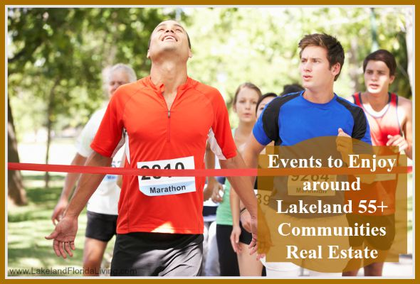 Check out what's happening around Lakeland 55+ communities homes, be sure to be part of these fun events!