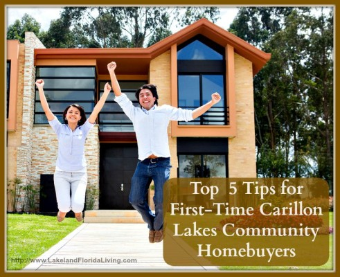 It may be your first time to buy a home in Carillon Lakes community but that does not mean you can't be an expert in it - these awesome tips will make an expert of you!