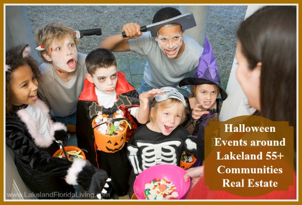Prepare yourself for a great halloween with all these awesome events around Lakeland 55+ communities homes.