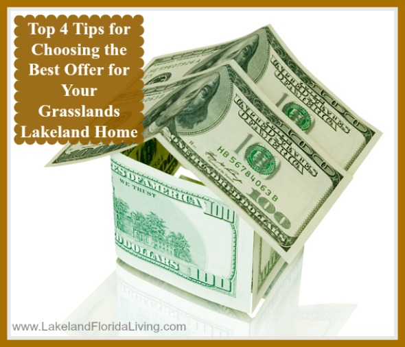 Select the best offer for your Grasslands Lakeland home for sale, here's how!